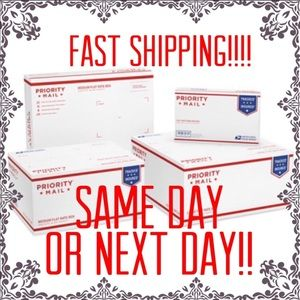 Same day to next day shipping!!!! 📦